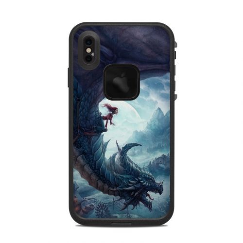 Flying Dragon LifeProof iPhone XS Max fre Case Skin