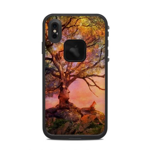 Fox Sunset LifeProof iPhone XS Max fre Case Skin