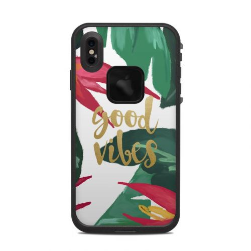Good Vibes LifeProof iPhone XS Max fre Case Skin