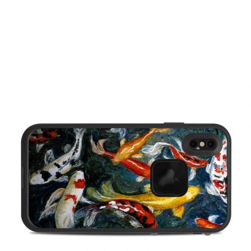 Koi's Happiness LifeProof iPhone XS Max fre Case Skin
