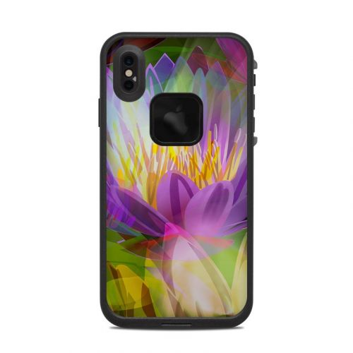 Lily LifeProof iPhone XS Max fre Case Skin