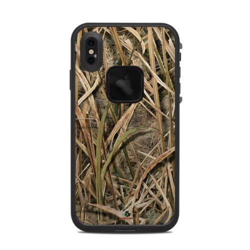 Shadow Grass Blades LifeProof iPhone XS Max fre Case Skin