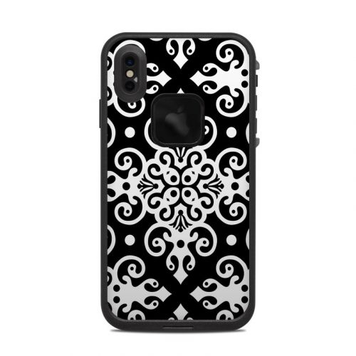 Noir LifeProof iPhone XS Max fre Case Skin