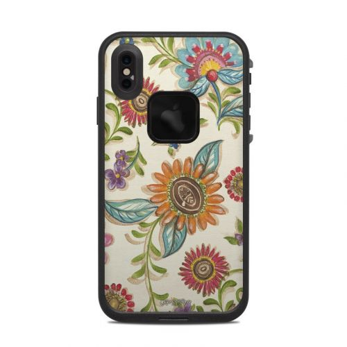 Olivia's Garden LifeProof iPhone XS Max fre Case Skin