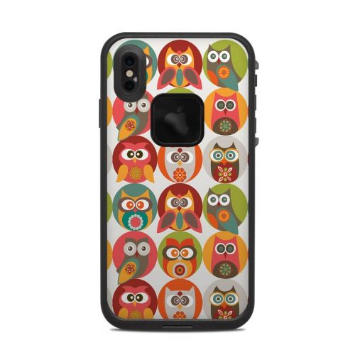 Owls Family LifeProof iPhone XS Max fre Case Skin