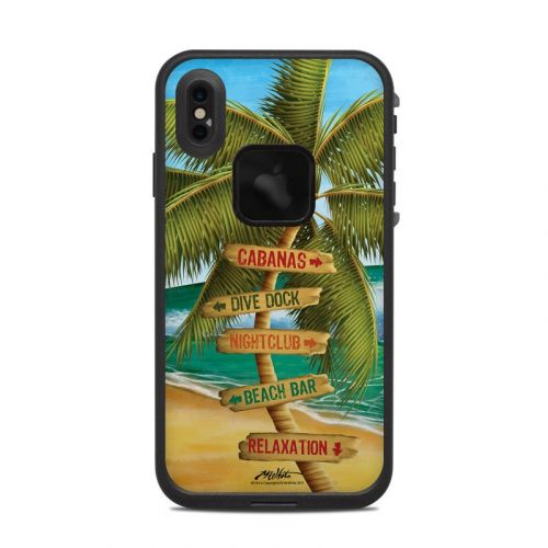 Palm Signs LifeProof iPhone XS Max fre Case Skin