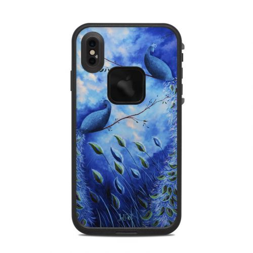 Paradise Peacocks LifeProof iPhone XS Max fre Case Skin