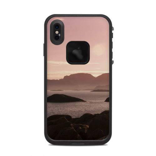Pink Sea LifeProof iPhone XS Max fre Case Skin
