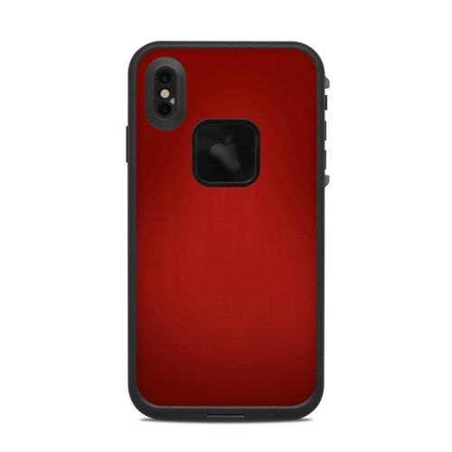 Red Burst LifeProof iPhone XS Max fre Case Skin