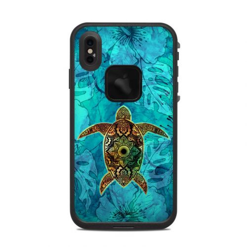 Sacred Honu LifeProof iPhone XS Max fre Case Skin