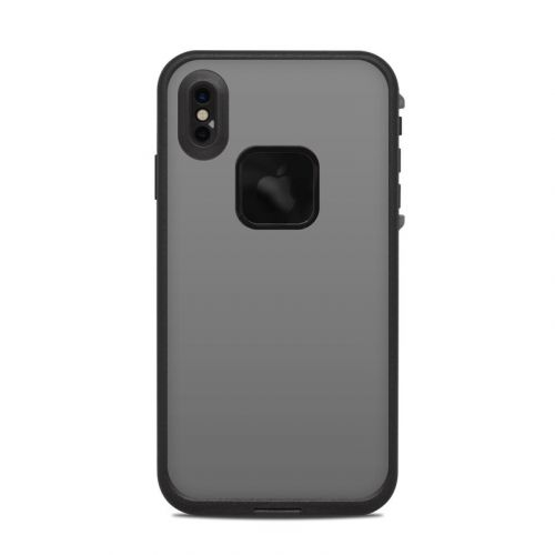 Solid State Grey LifeProof iPhone XS Max fre Case Skin