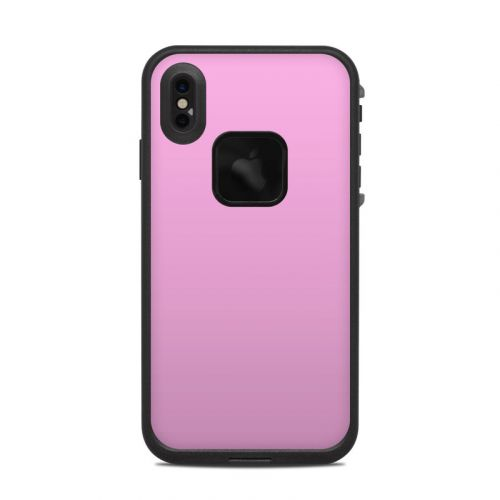 Solid State Pink LifeProof iPhone XS Max fre Case Skin