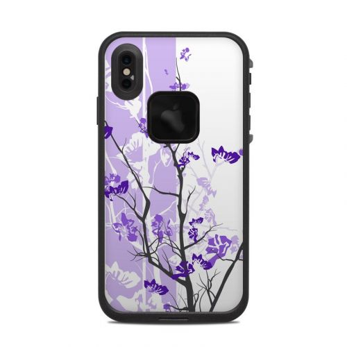 Violet Tranquility LifeProof iPhone XS Max fre Case Skin