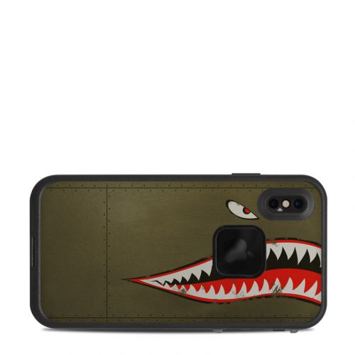 USAF Shark LifeProof iPhone XS Max fre Case Skin