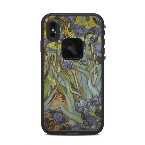 Irises LifeProof iPhone XS Max fre Case Skin