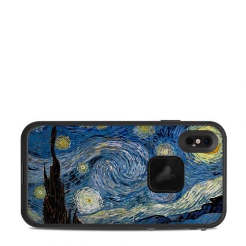 Starry Night LifeProof iPhone XS Max fre Case Skin