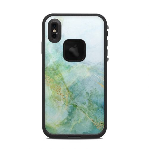 Winter Marble LifeProof iPhone XS Max fre Case Skin