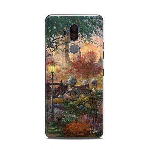 Autumn in New York LG G7 ThinQ Skin