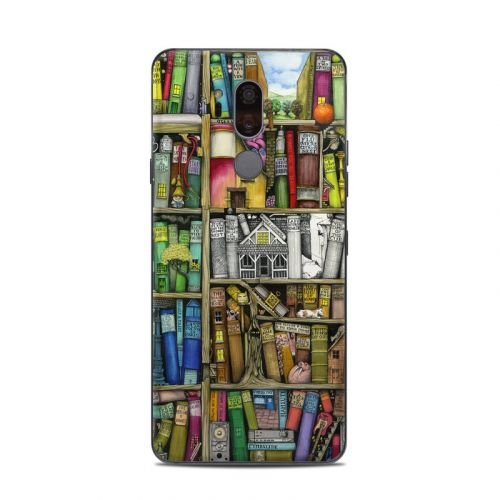 Bookshelf LG G7 ThinQ Skin