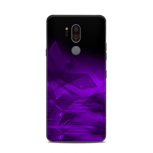 Dark Amethyst Crystal LG G7 ThinQ Skin