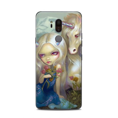 Fiona Unicorn LG G7 ThinQ Skin