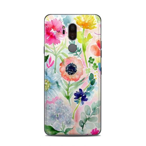 Loose Flowers LG G7 ThinQ Skin