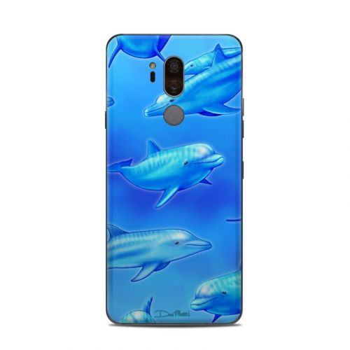 Swimming Dolphins LG G7 ThinQ Skin