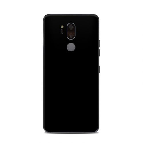Solid State Black LG G7 ThinQ Skin