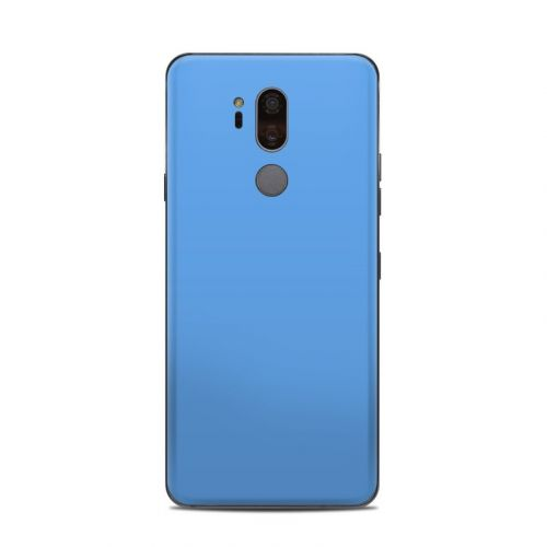 Solid State Blue LG G7 ThinQ Skin