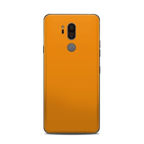 Solid State Orange LG G7 ThinQ Skin