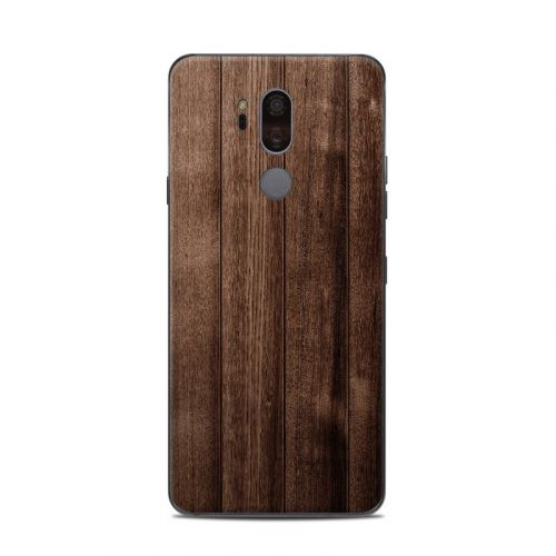 Stained Wood LG G7 ThinQ Skin