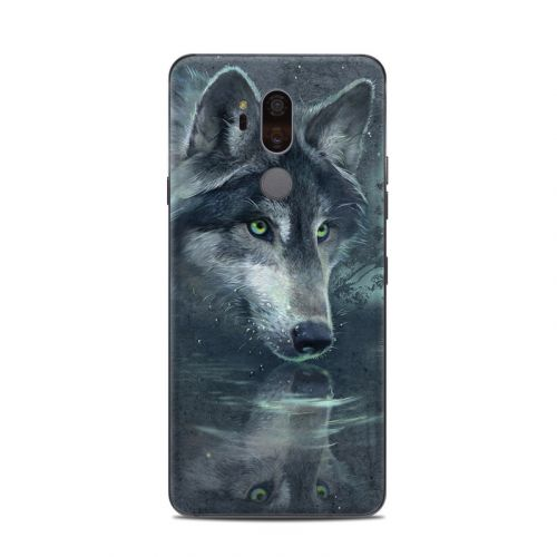 Wolf Reflection LG G7 ThinQ Skin