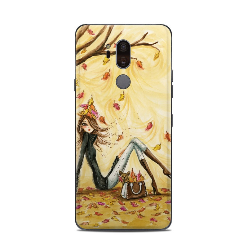 Autumn Leaves LG G7 ThinQ Skin