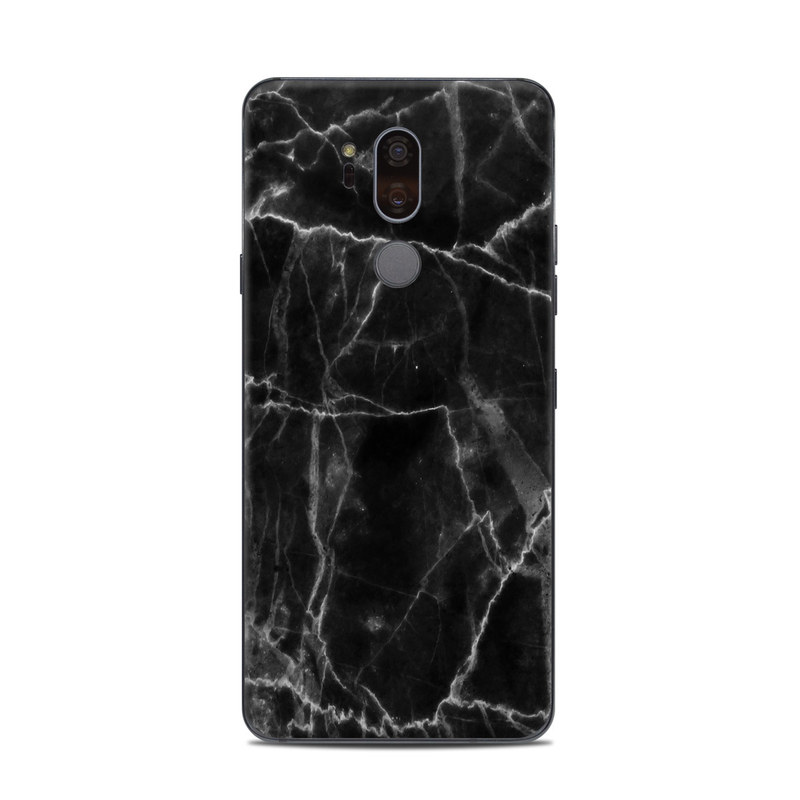 LG G7 ThinQ Skin design of Black, White, Nature, Black-and-white, Monochrome photography, Branch, Atmosphere, Atmospheric phenomenon, Tree, Sky with black, white colors
