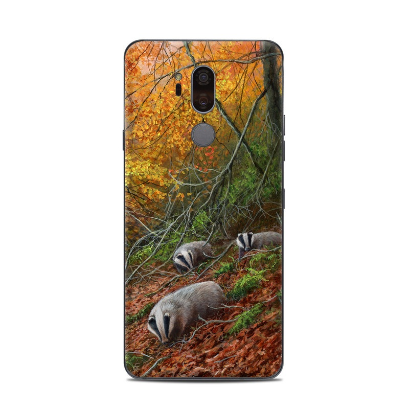 Forest Gold LG G7 ThinQ Skin