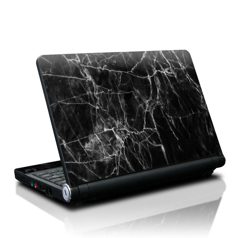 Lenovo IdeaPad S10 Skin design of Black, White, Nature, Black-and-white, Monochrome photography, Branch, Atmosphere, Atmospheric phenomenon, Tree, Sky with black, white colors