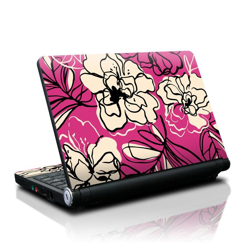 Black Lily Lenovo IdeaPad S10 Skin
