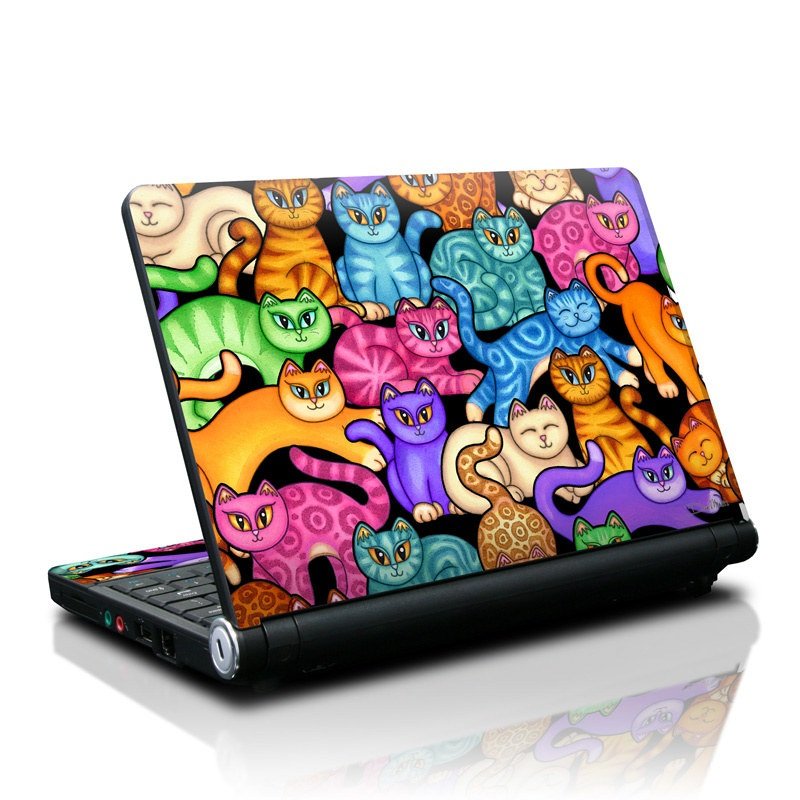 Colorful Kittens Lenovo IdeaPad S10 Skin