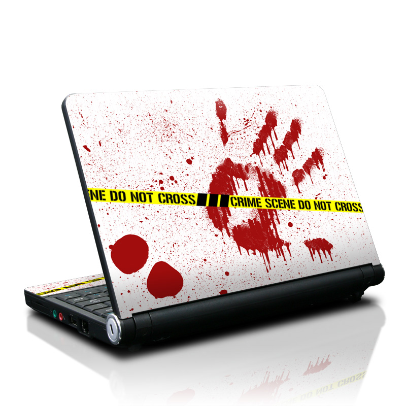 Crime Scene Revisited Lenovo IdeaPad S10 Skin