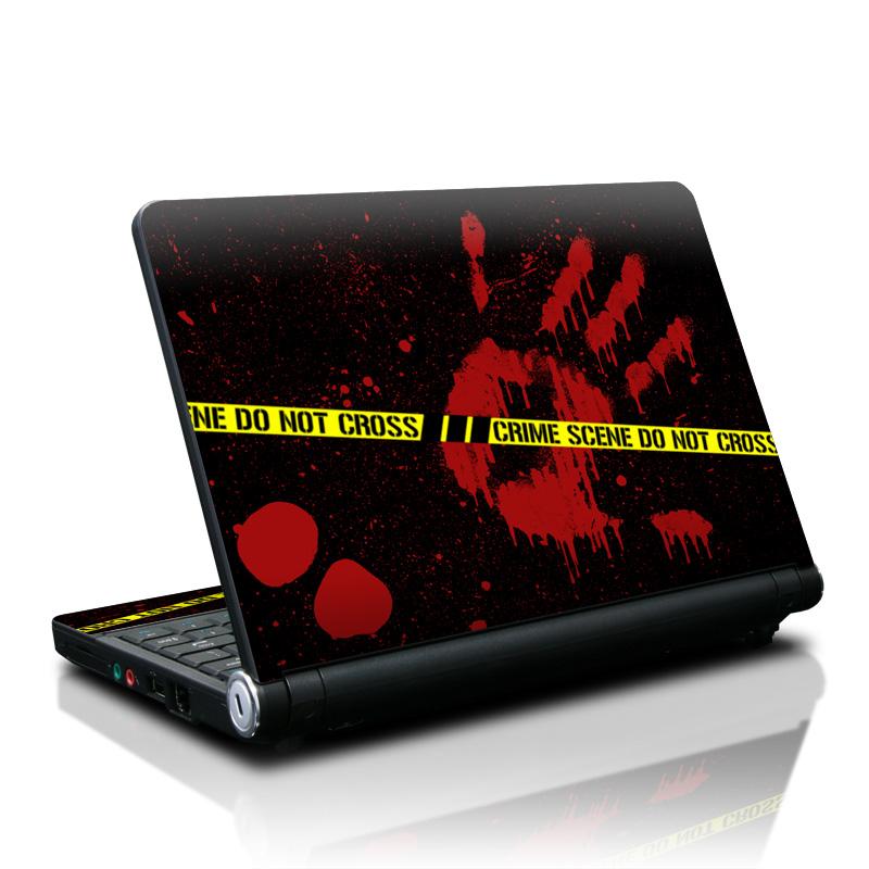 Crime Scene Lenovo IdeaPad S10 Skin