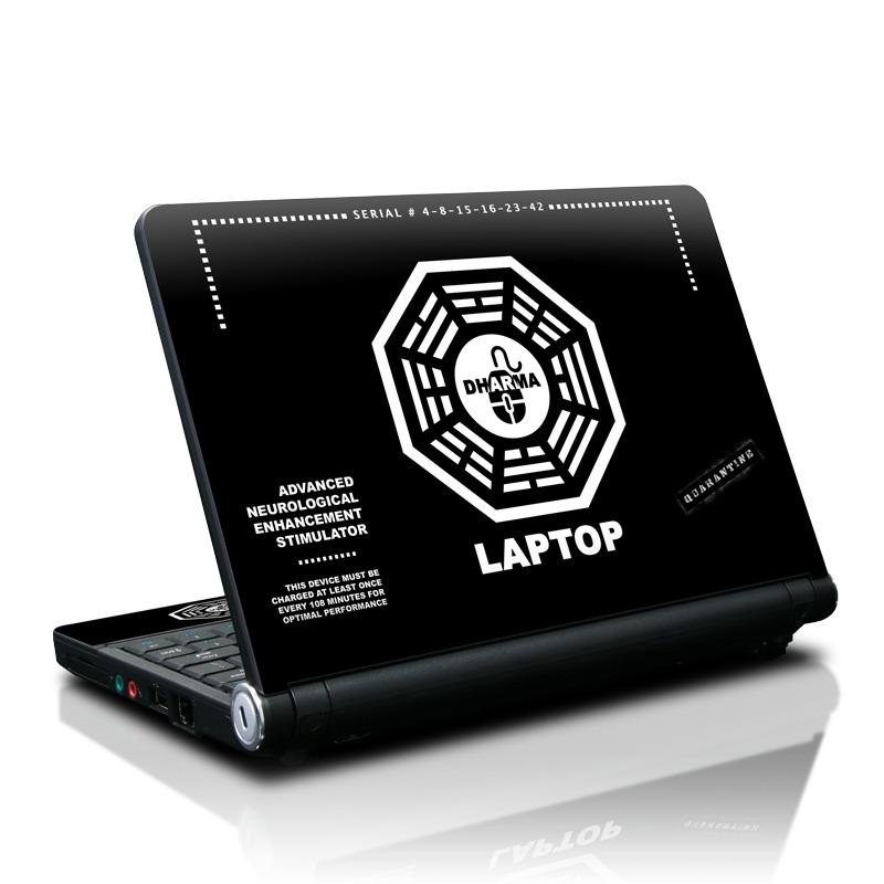 Dharma Black Lenovo IdeaPad S10 Skin