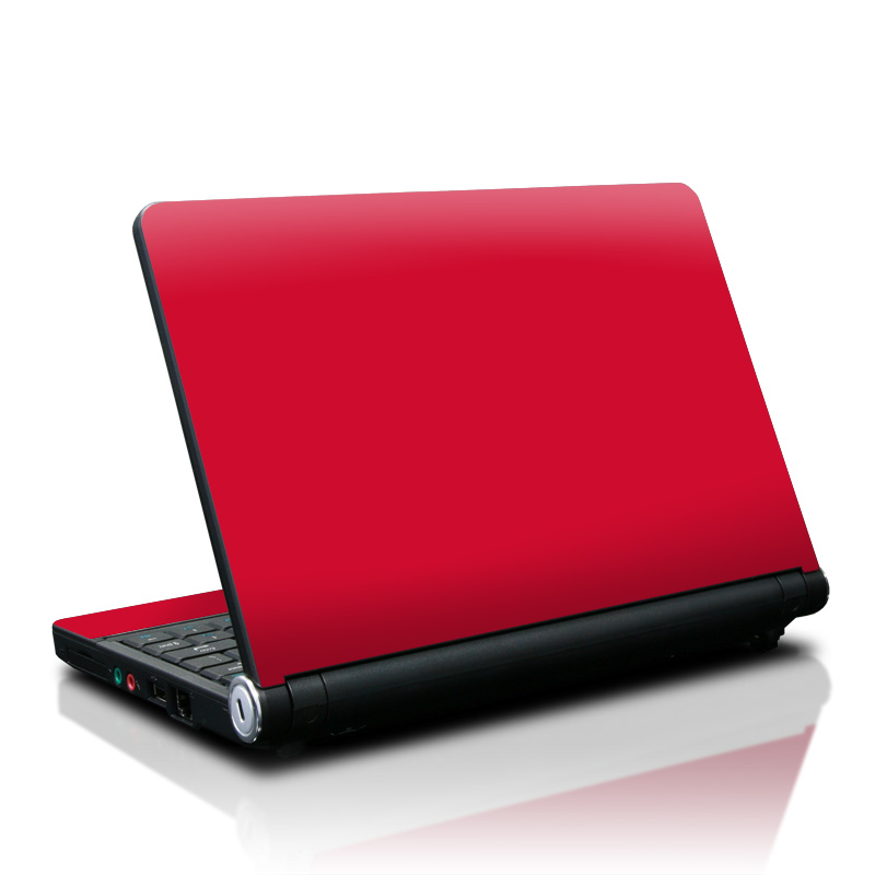 Solid State Red Lenovo IdeaPad S10 Skin