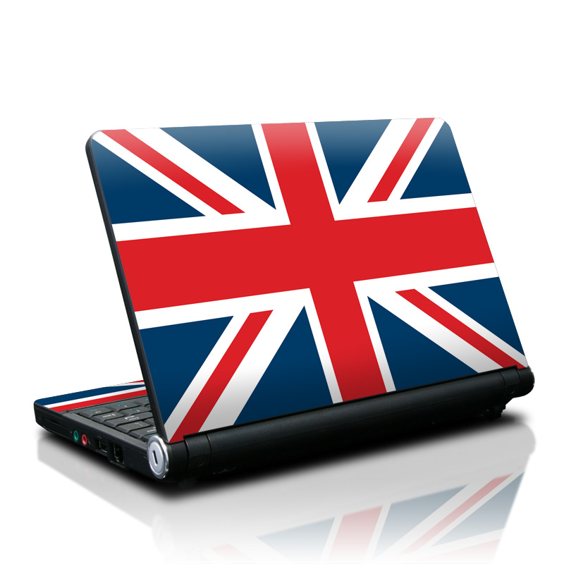 Lenovo IdeaPad S10 Skin design of Flag, Red, Line, Electric blue, Design, Font, Pattern, Parallel, Flag Day (USA) with red, white, blue colors
