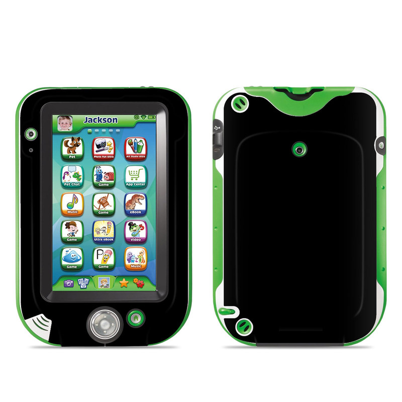 LeapFrog LeapPad Ultra Skin design of Black, Darkness, White, Sky, Light, Red, Text, Brown, Font, Atmosphere with black colors