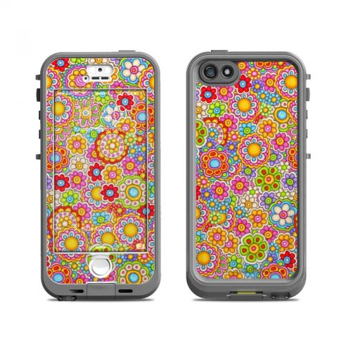 Bright Ditzy LifeProof iPhone SE, 5s nuud Skin