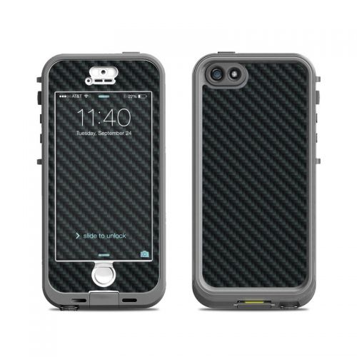Carbon Fiber LifeProof iPhone SE, 5s nuud Case Skin