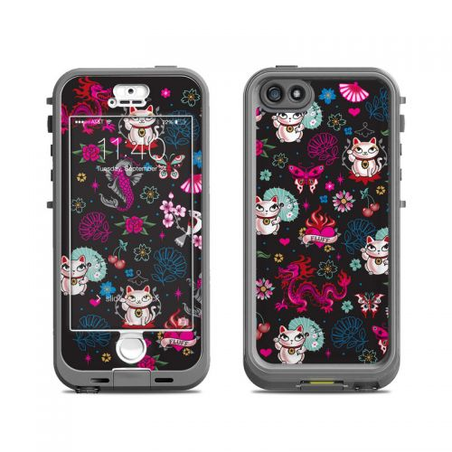 Geisha Kitty LifeProof iPhone SE, 5s nuud Case Skin