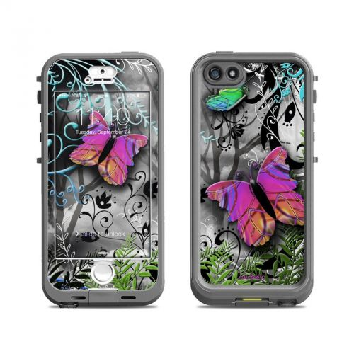Goth Forest LifeProof iPhone SE, 5s nuud Skin