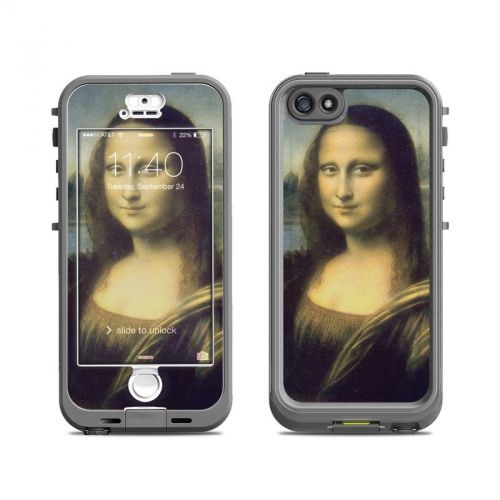 Mona Lisa LifeProof iPhone SE, 5s nuud Skin