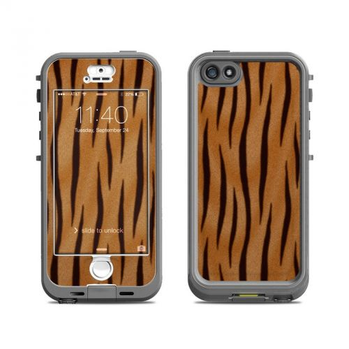 Tiger Stripes LifeProof iPhone SE, 5s nuud Skin